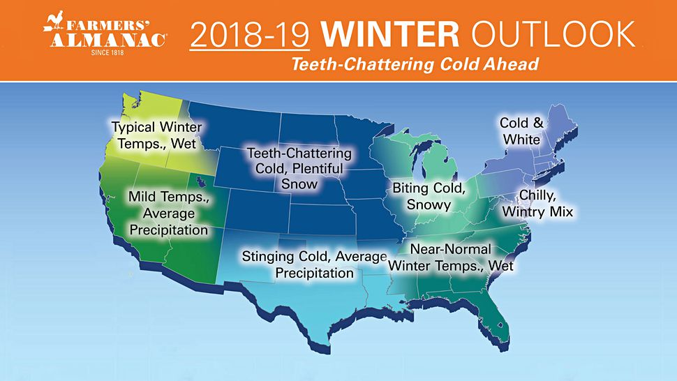 Winter 2019: What two New England-based almanacs are ...