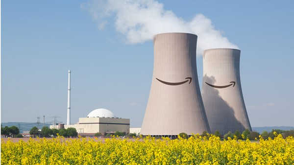 Nuclear energy towers